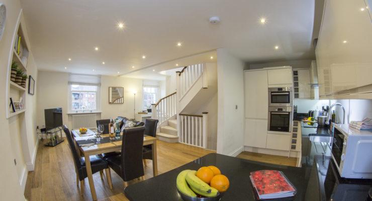 Finchley Apartment 3 kitchen