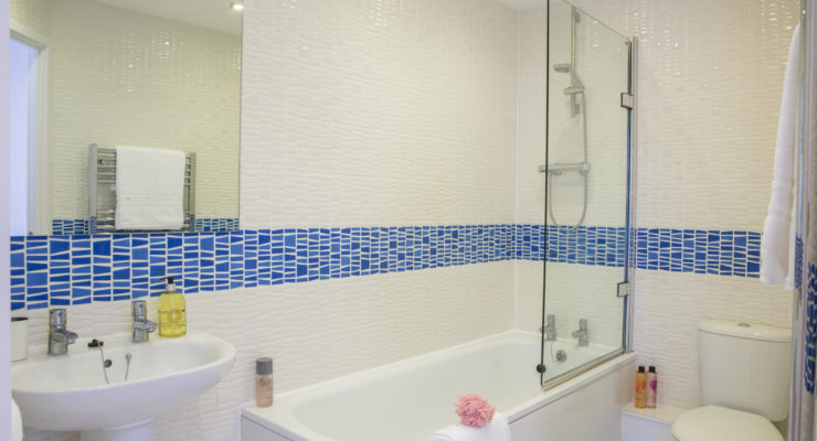 elstree apartment 2 bathroom